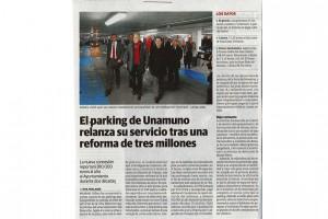parking unamuno prensa apertura