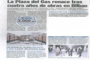 plaza del gas prensa inaguracion