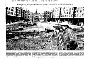 Presse plaza del gas bilbao agvar arquitectos - Plaza del gas bilbao ...