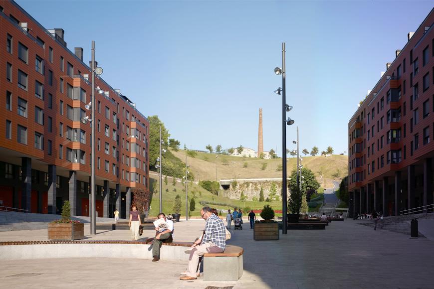 211 dwellings plaza del gas bilbao agvar aguilar y - Plaza del gas bilbao ...